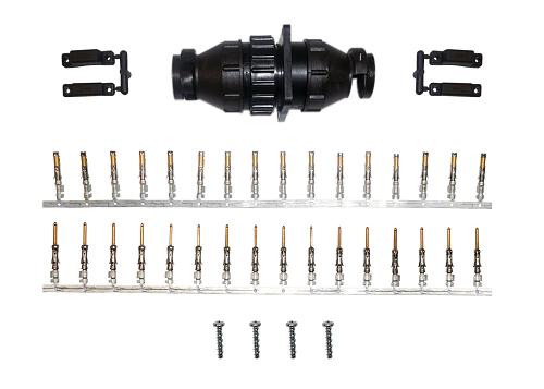 Kit Conector Circular 16 vias