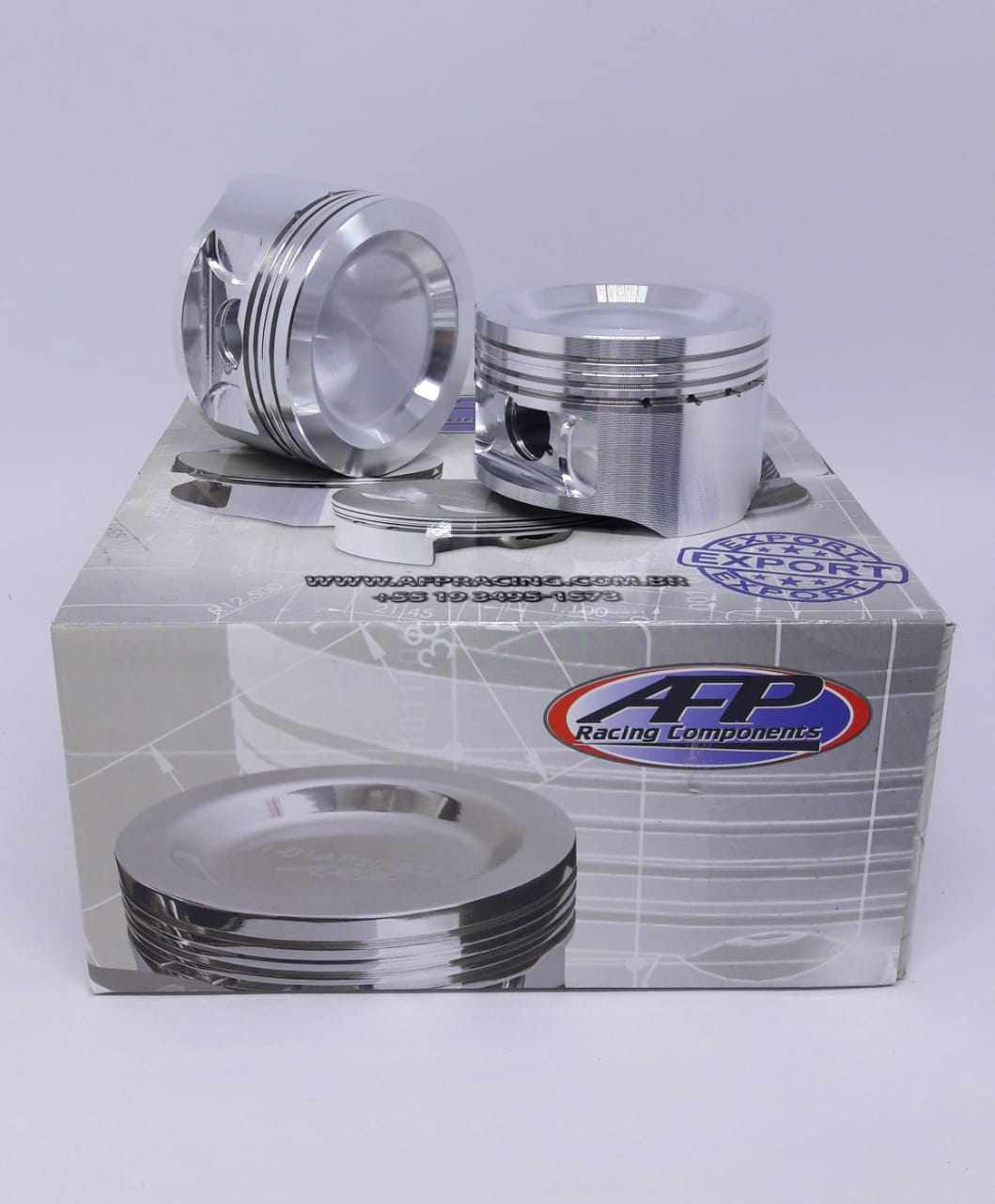Pistao AFP Forjado VW AP 1.9 8V TURBO 83,00mm PINO 20mm p/ 1200cv