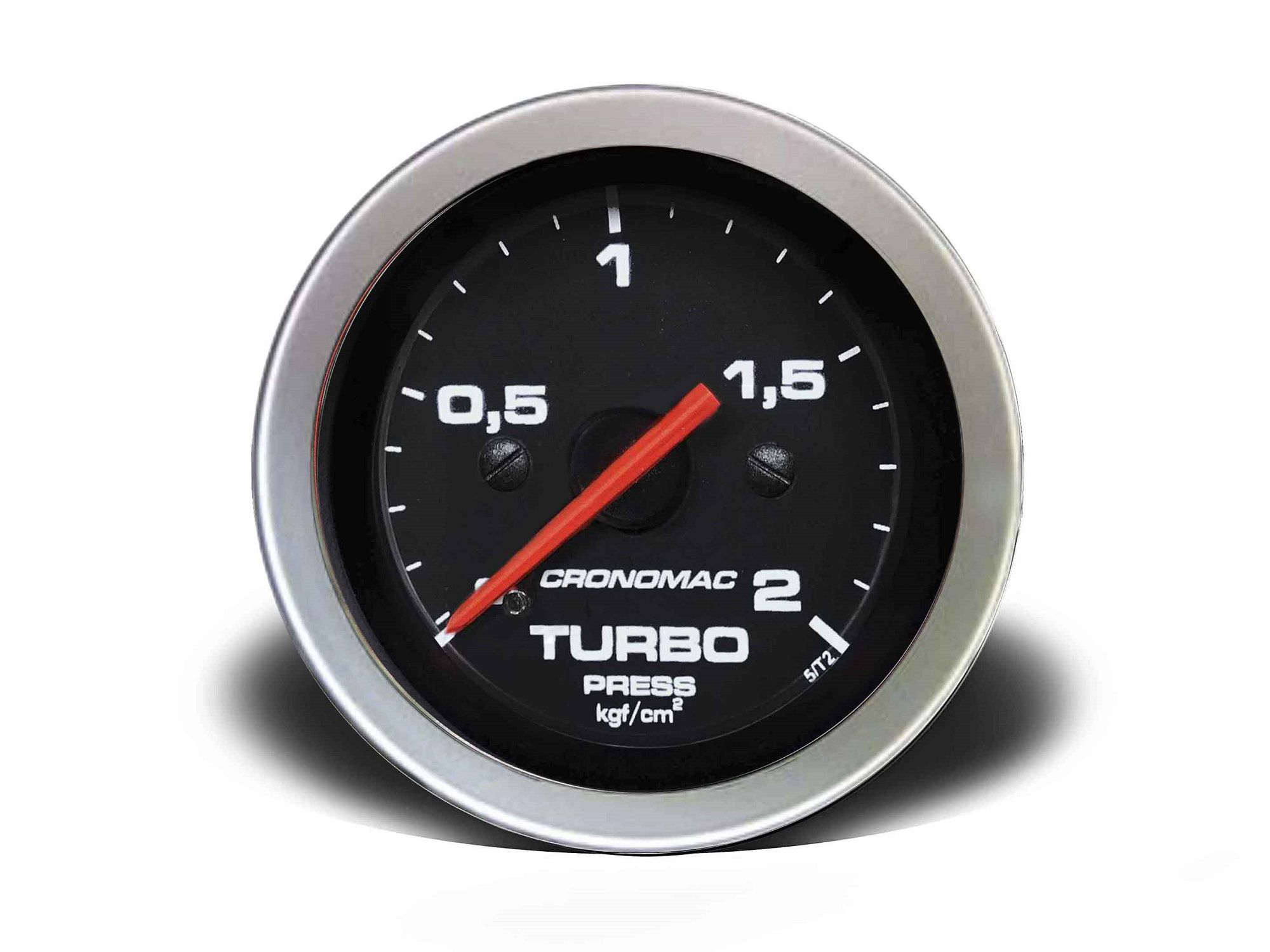 Relogio Pressao de Turbo 2kg Sport 52mm Cronomac