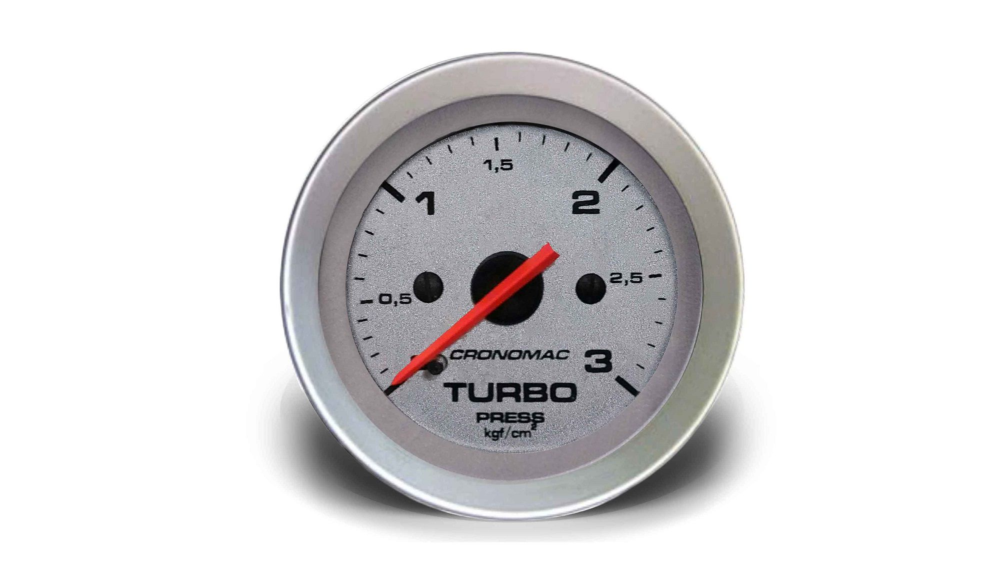 Relogio Pressao de Turbo 3kg Racing 52mm Cronomac