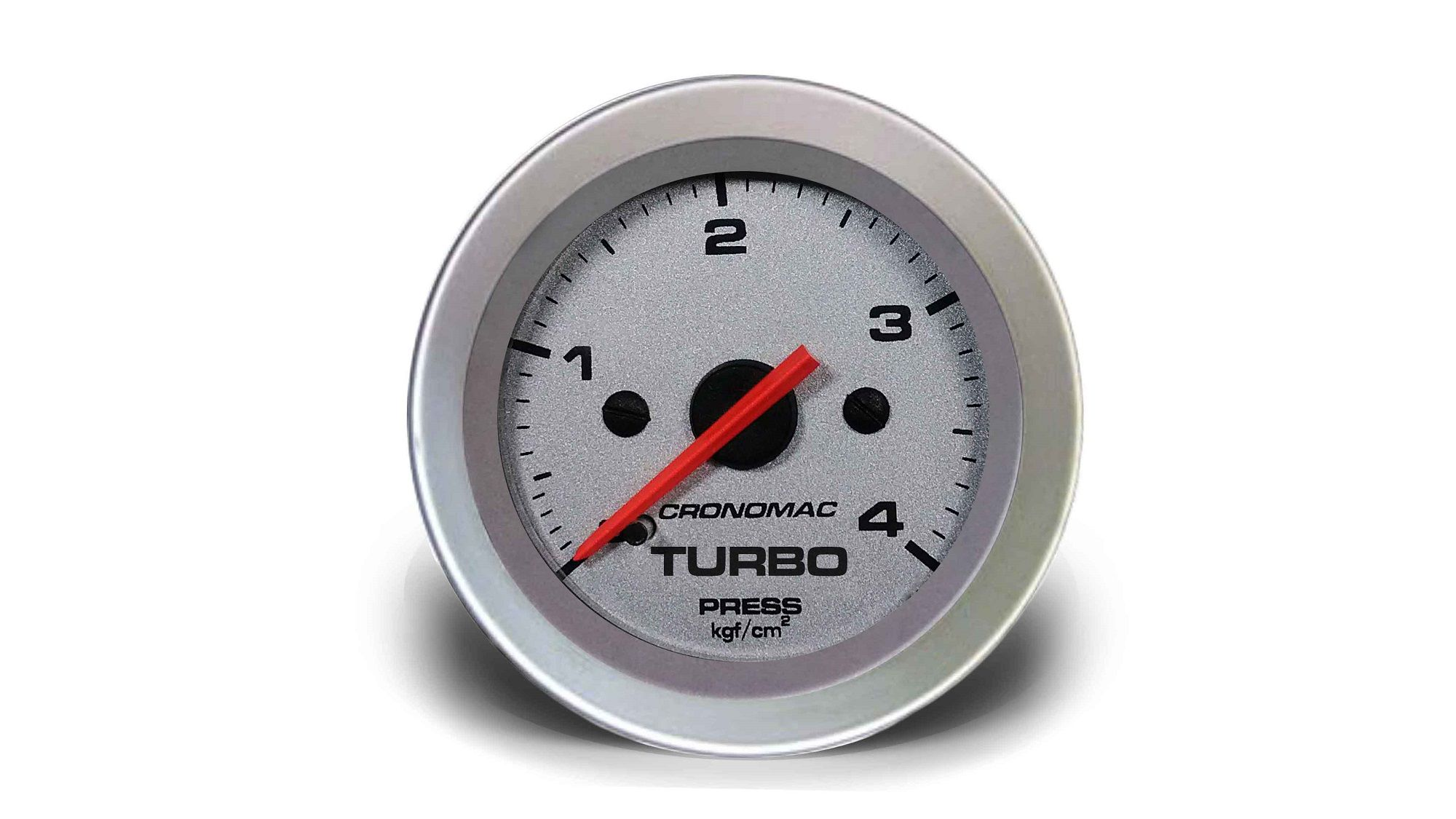 Relogio Pressao de Turbo 4kg Racing 52mm Cronomac