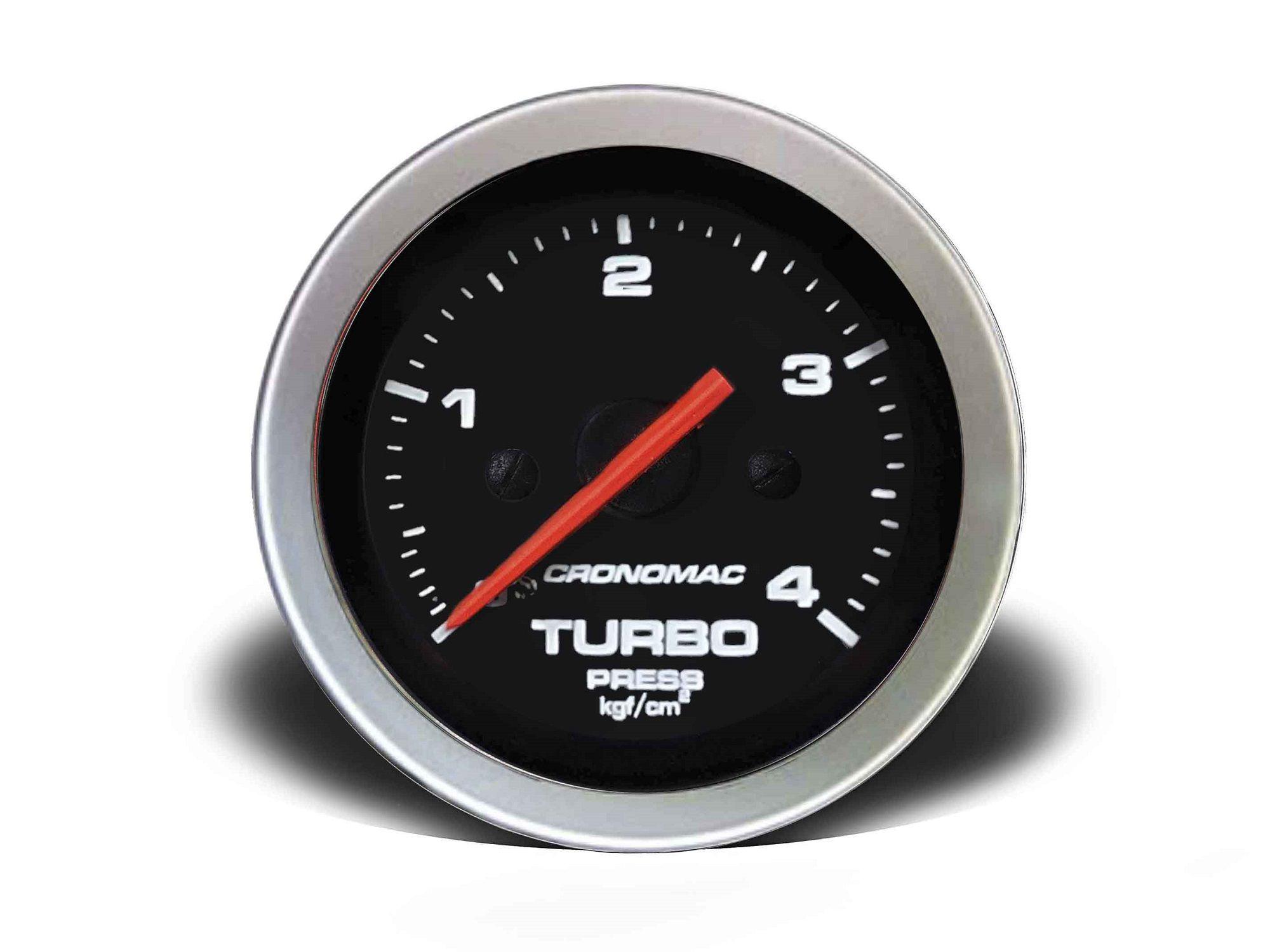Relogio Pressao de Turbo 4kg Sport 52mm Cronomac