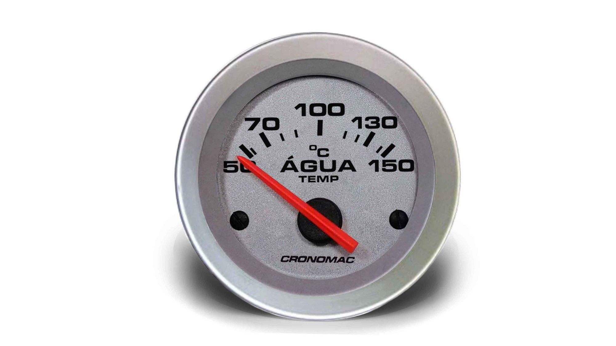 Relogio Temperatura Agua Eletrico 52mm Racing Cronomac