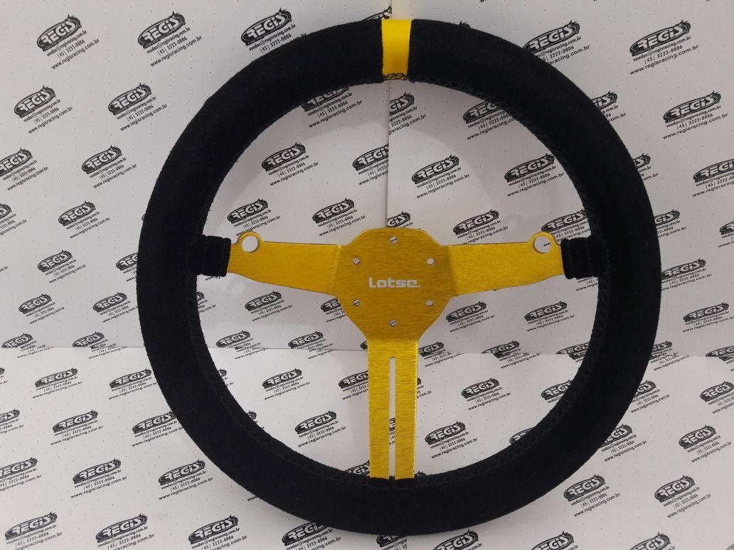 Volante LOTSE R-GT Serie Especial Dourado