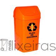 Coletor de 50 litros para óleo de cozinha