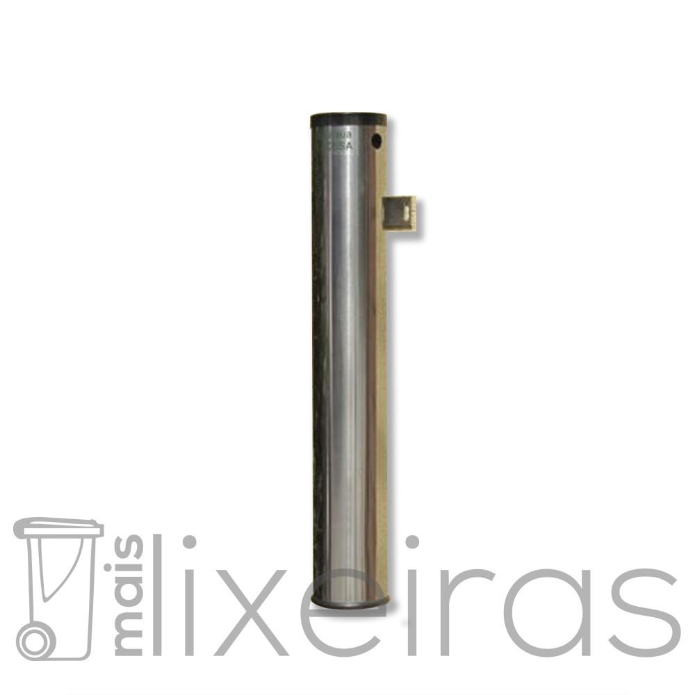 Bituqueira de parede fixa/móvel em aço inox