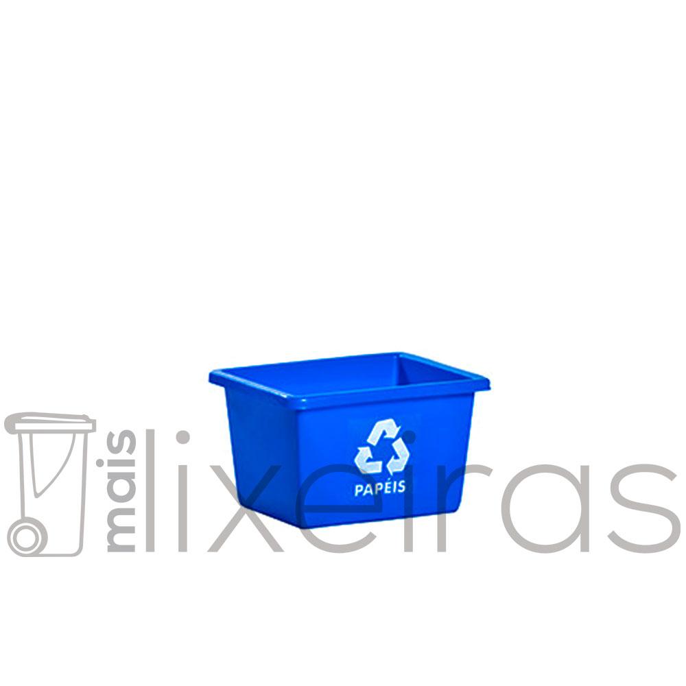 Caixa coletora de papel a4 22L