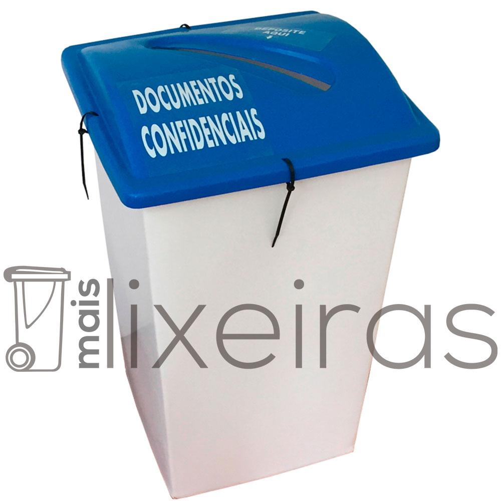 Coletor para Documentos Confidenciais 100 litros