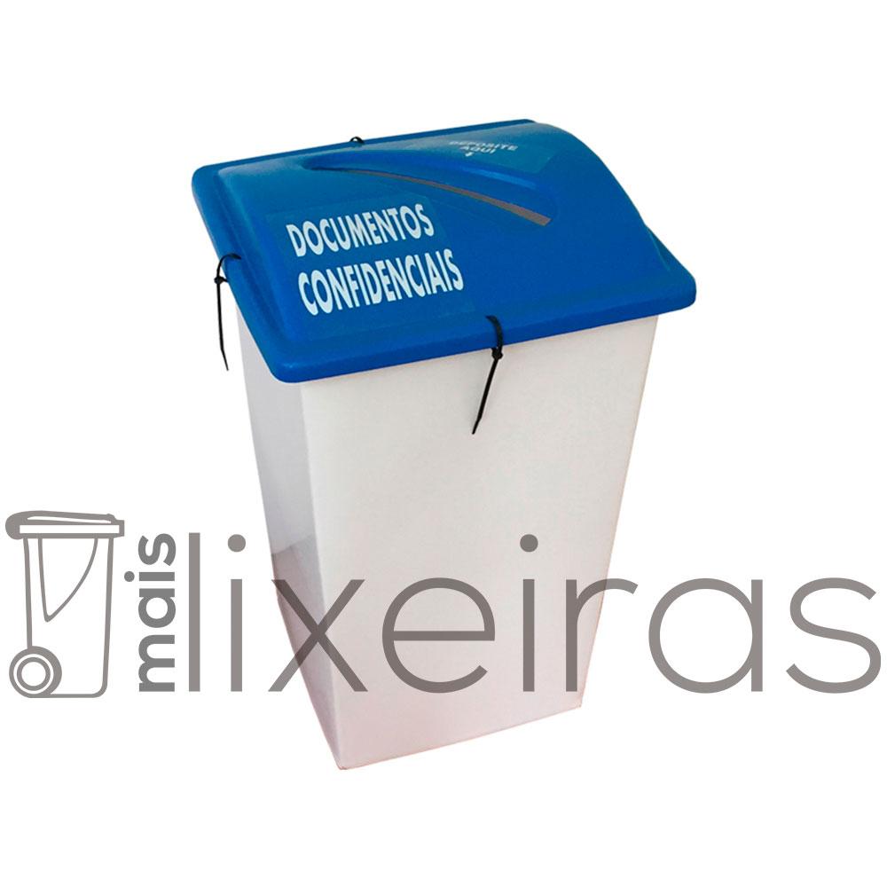 Coletor para Documentos Confidenciais 40 litros