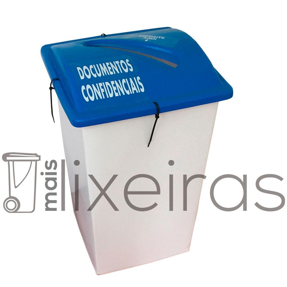 Coletor para Documentos Confidenciais 60 litros
