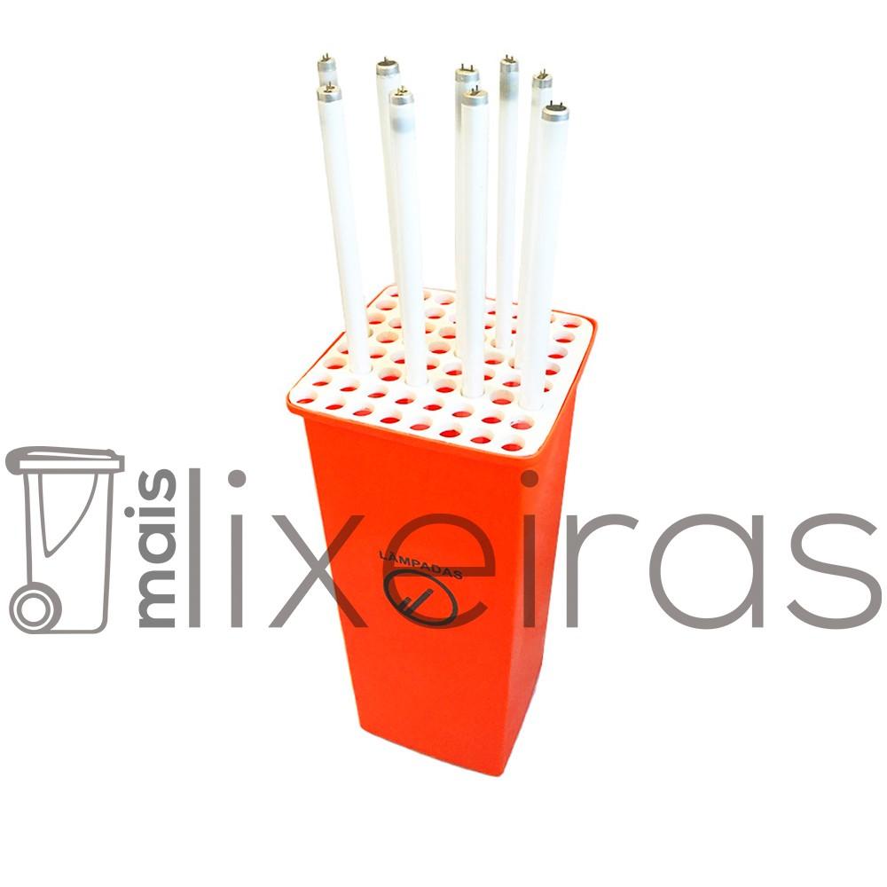 Coletor para lâmpadas fluorescentes tubulares - 42 lâmpadas