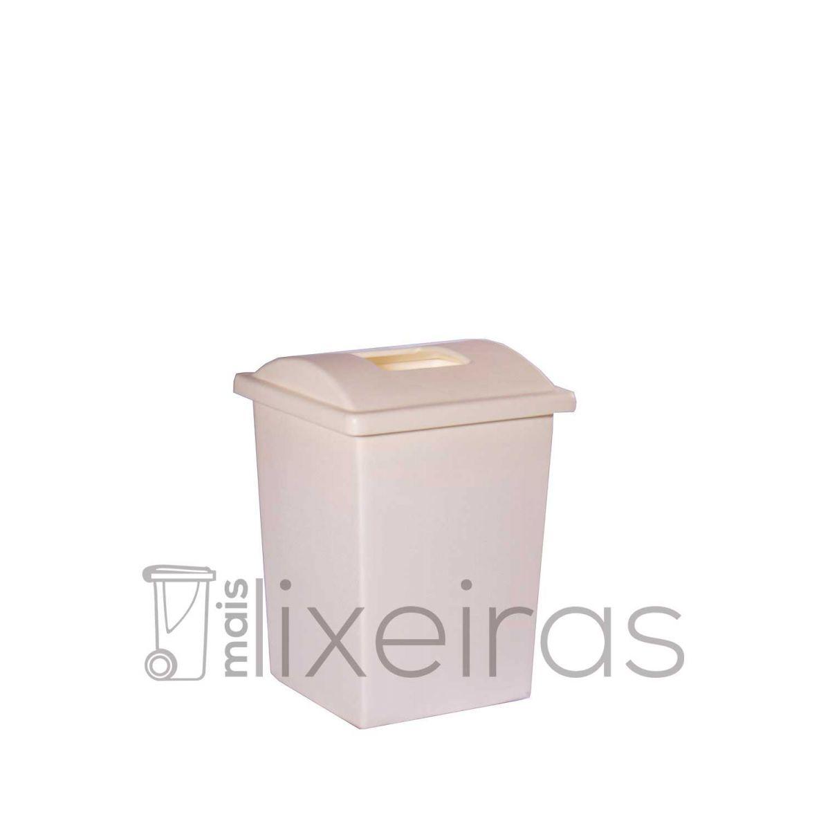 Lixeira colorida com tampa personalizada - 60 litros