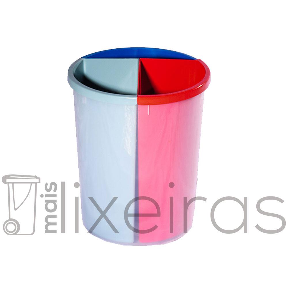 Lixeira MIX 3 em 1 Exclusiva - 50 litros