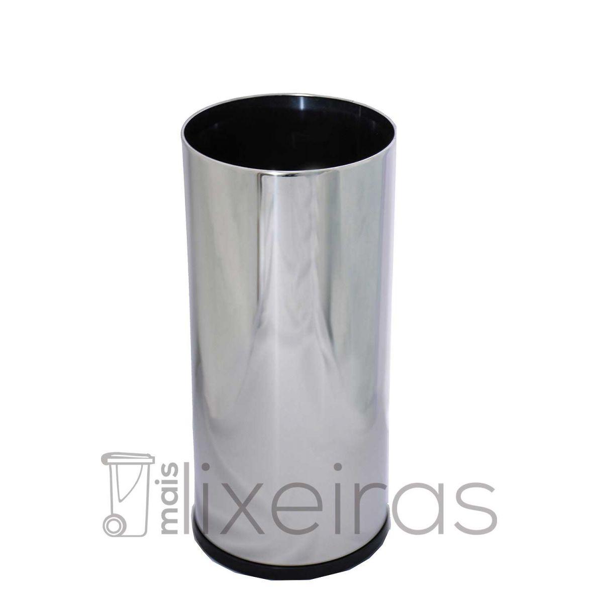 Porta Guarda-Chuva em Aço Inox 24X70 cm