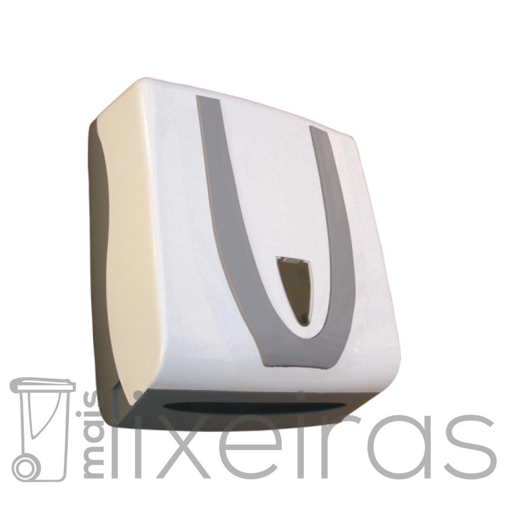 Suporte para papel toalha modelo luxo para 2 ou 3 dobras