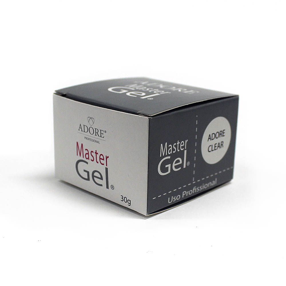 Adore Master Gel Clear - Pote 30g
