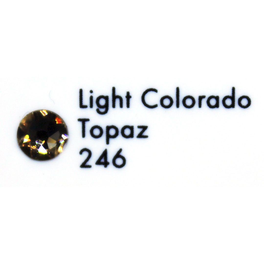 Cristal Swarovski Light Colorado Topaz