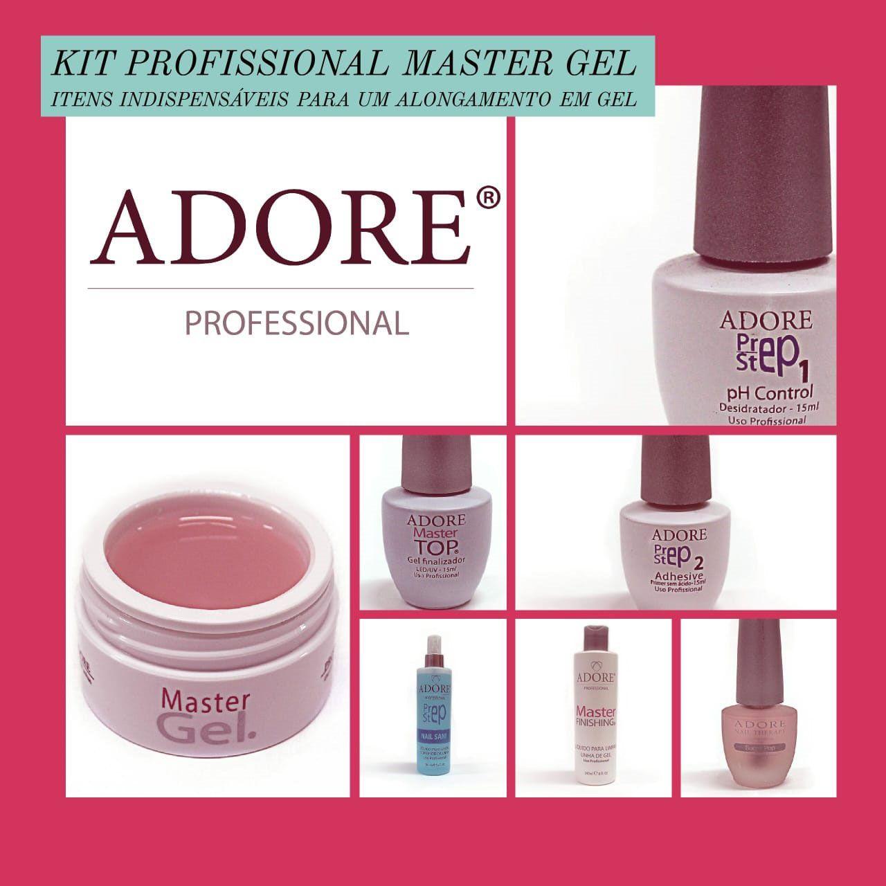 Kit Profissional Master Gel Pink