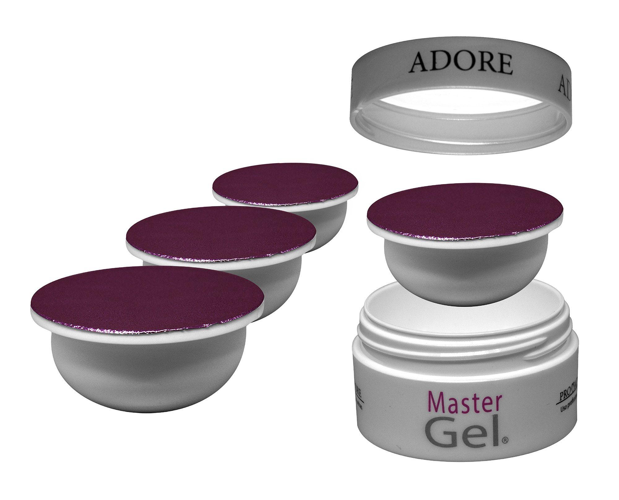 Kit Refil - 4 Adore Master Gel Pink