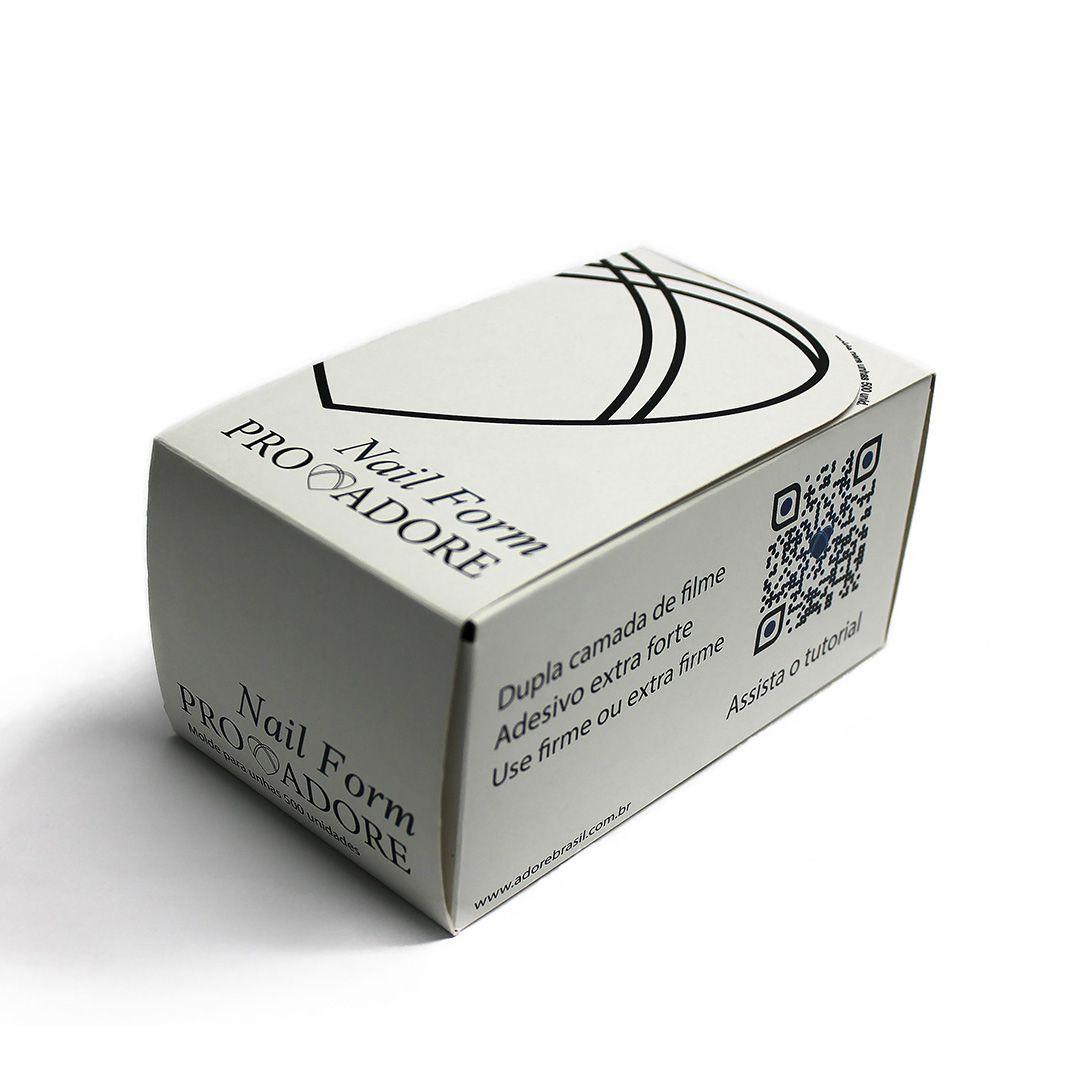Nail Form - Caixa 500 unidades