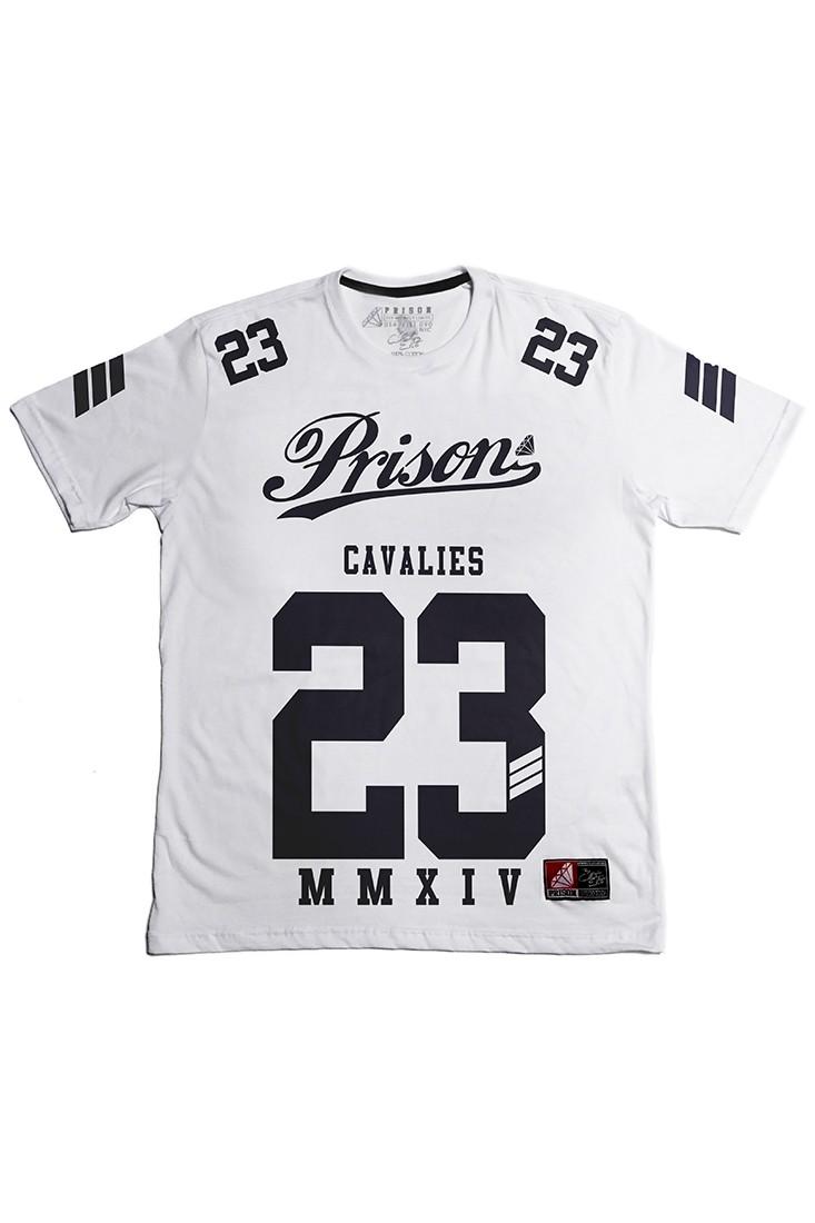 Camiseta cavaliers Prison Branca