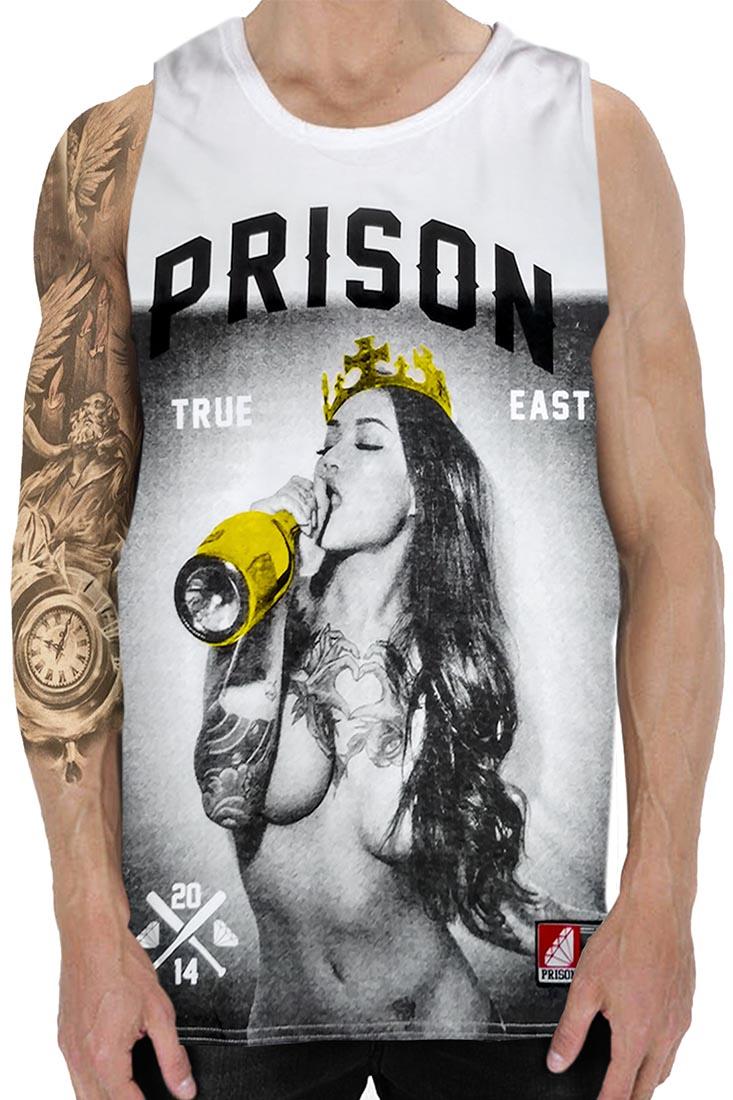 Regata Thug girl Champagne Prison Branca