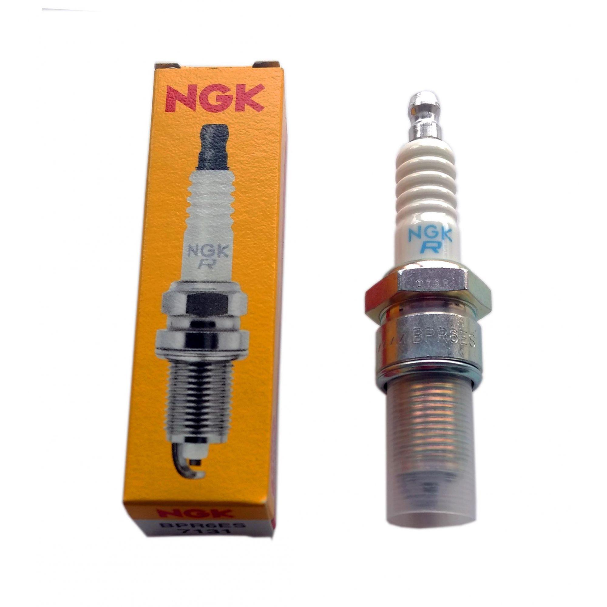 Vela NGK BPR6ES - 5,5-6,5 e 13 HP - 488