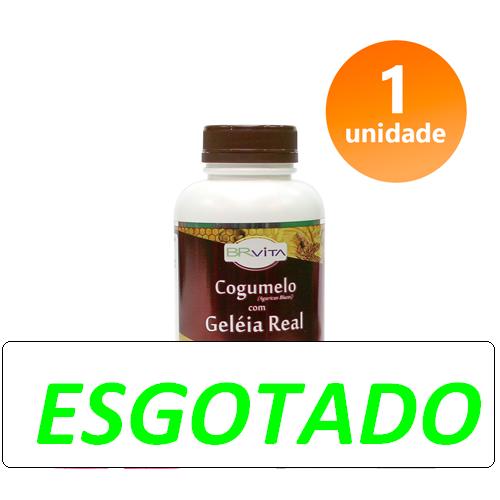 COGUMELO COM GELEIA REAL 1 FRASCO + BRINDE + FRETE GRÁTIS