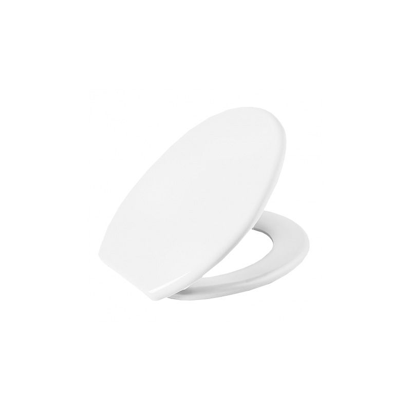 Assento Sanitário Plástico Oval Soft Branco Astra