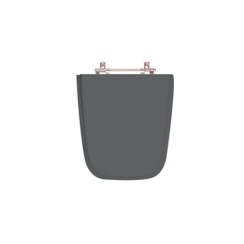 Assento Sanitário Poliéster Para Ideal Standard Aero Cinza Quartzo