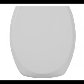 Assento Sanitário Polipropileno Plus Fit Cinza Prata Celite