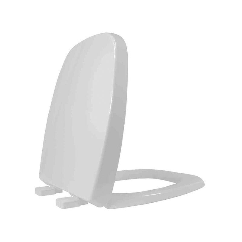 Assento Sanitário Termofixo Fit/Versato/Savary Cinza Prata Tupan