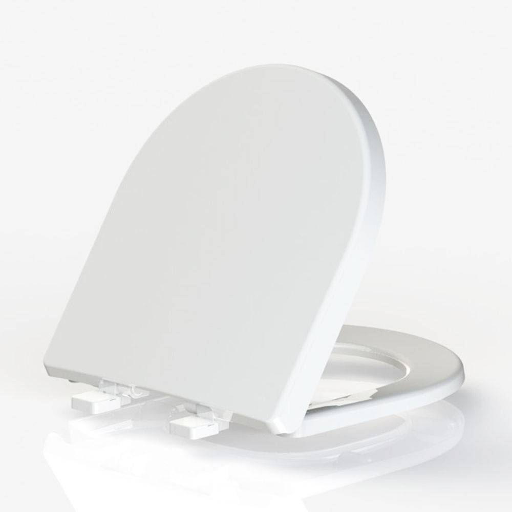 Assento Sanitário Termofixo Riviera/Smart/Nexo Branco Tupan