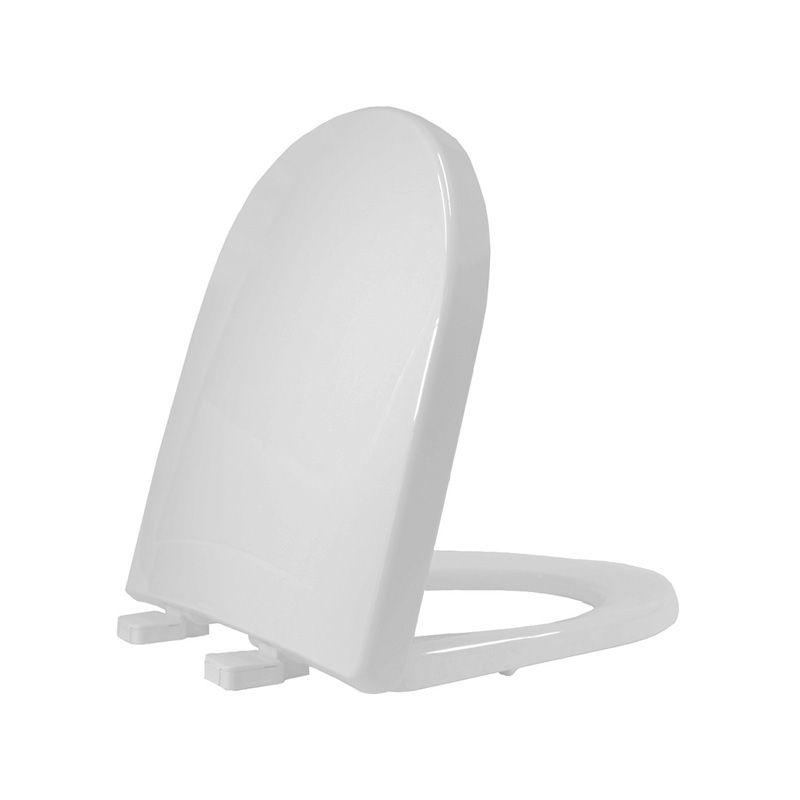 Assento Sanitário Termofixo Riviera/Smart/Nexo Cinza Prata Tupan