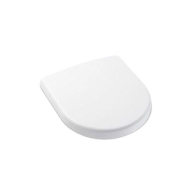 Assento Sanitário Termofixo Soft Close Smart Branco Matte Celite