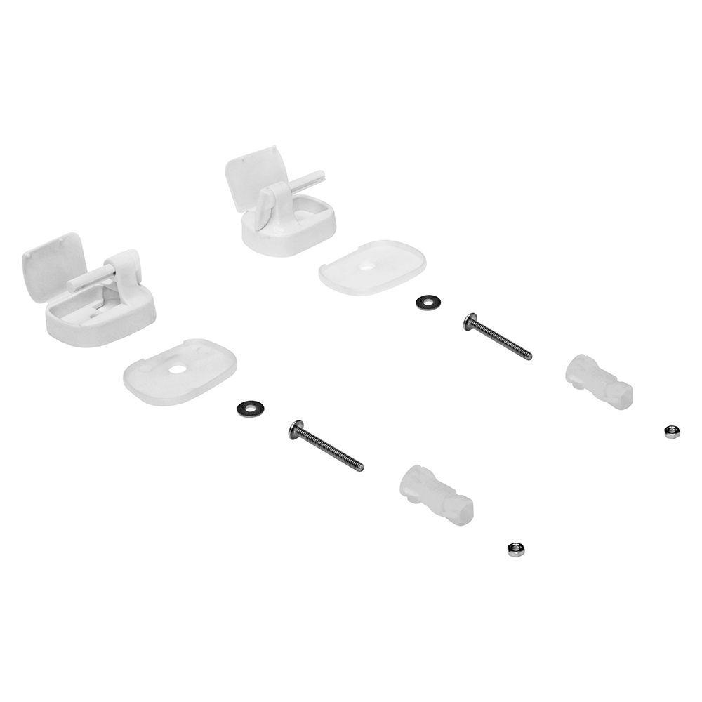 Parafusos Fixação para Assento Eros Branco Tupan