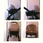 Cortinado Bebe Conforto e Moises