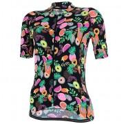 Camisa de Ciclismo Marcio May Funny Tutti-Fruti Feminina