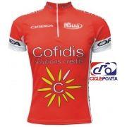 Camisa masculina ciclismo Cofidis Multi Sports 9d3e300f37
