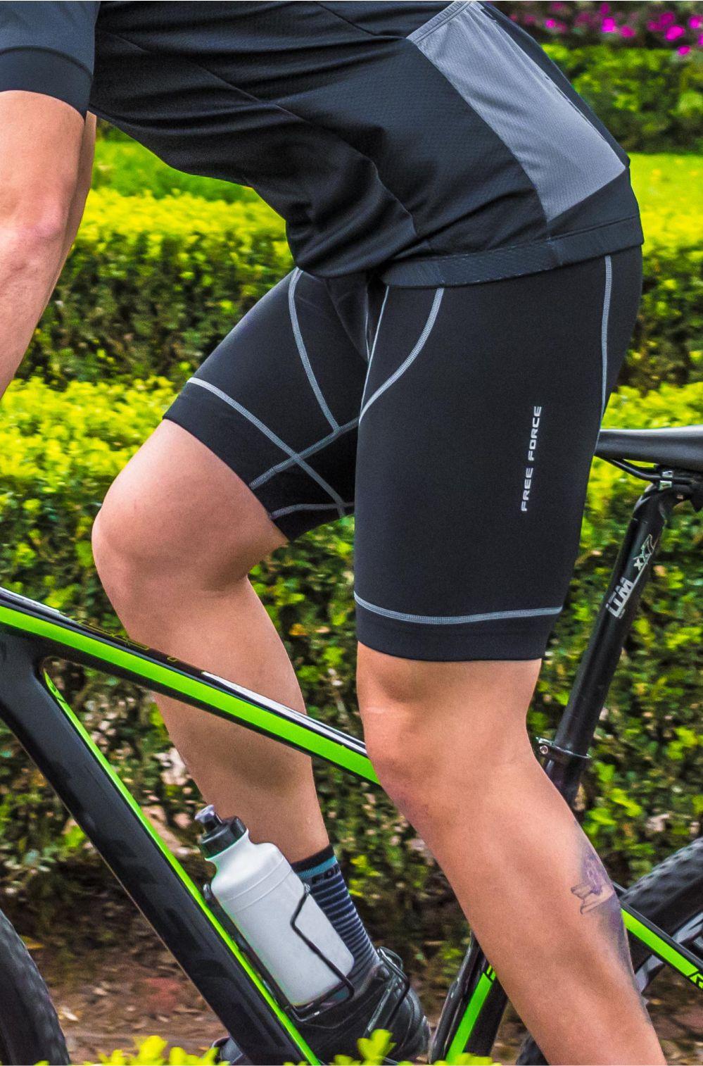 Bermuda de Ciclismo Masculina Neo Contour Free Force