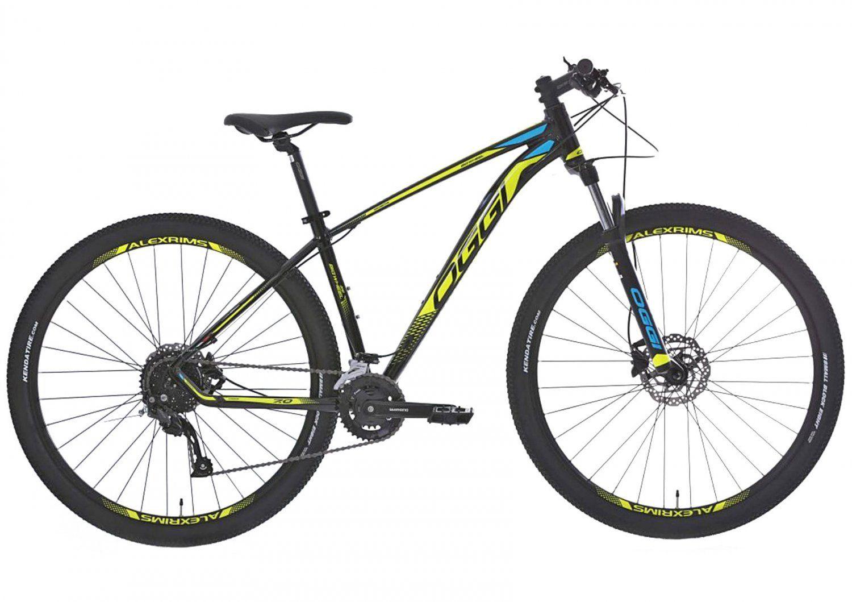 "Bicicleta 29"" Oggi 7.0 Big Wheel amarela- 18V - 2020"