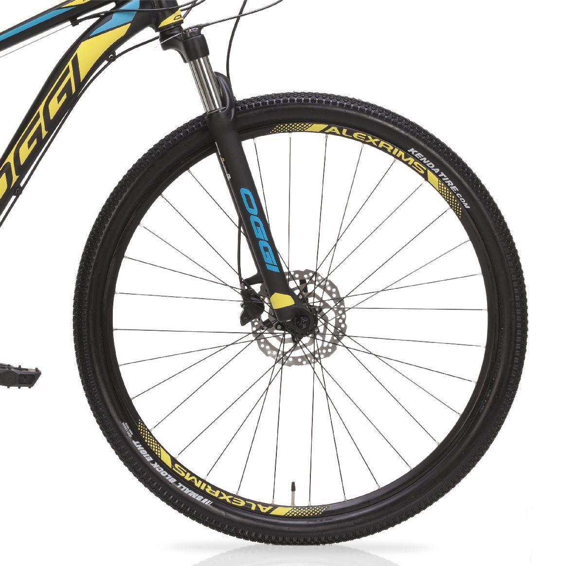 "Bicicleta 29"" Oggi 7.0 Big Wheel - 27V cor amarela"