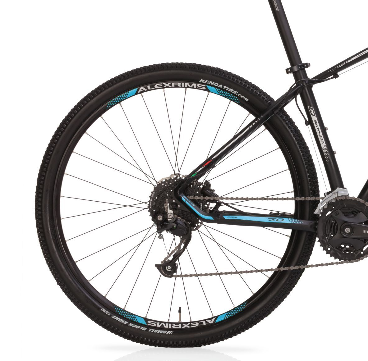 "Bicicleta 29"" Oggi 7.0 Big Wheel  - 27V cor azul"