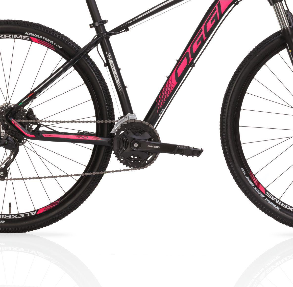 "Bicicleta 29"" Oggi 7.0 Big Wheel  - 27V cor rosa"