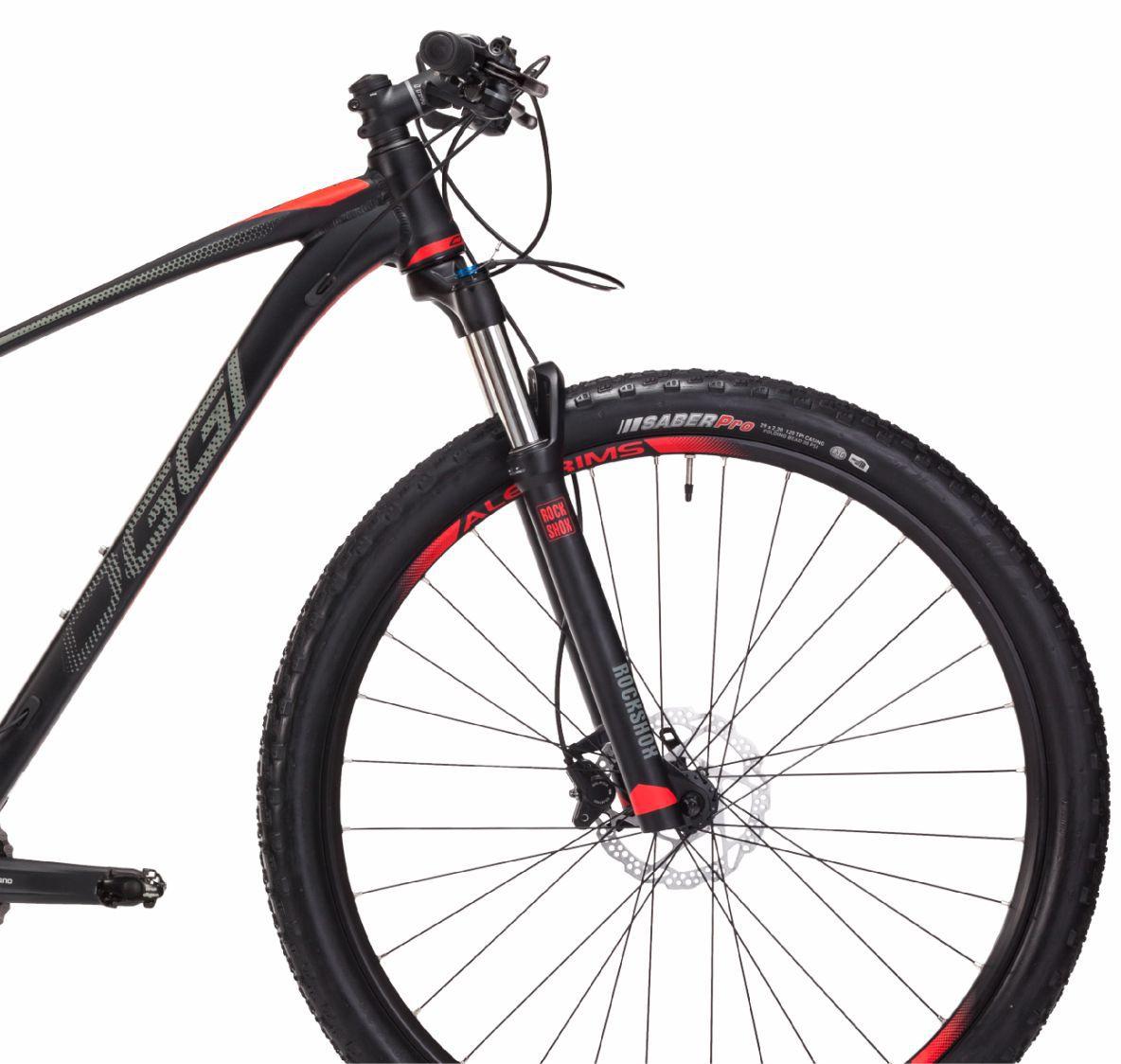 """Bicicleta 29"""" Oggi 7.2 Big Wheel 18V - cor vermelha"""