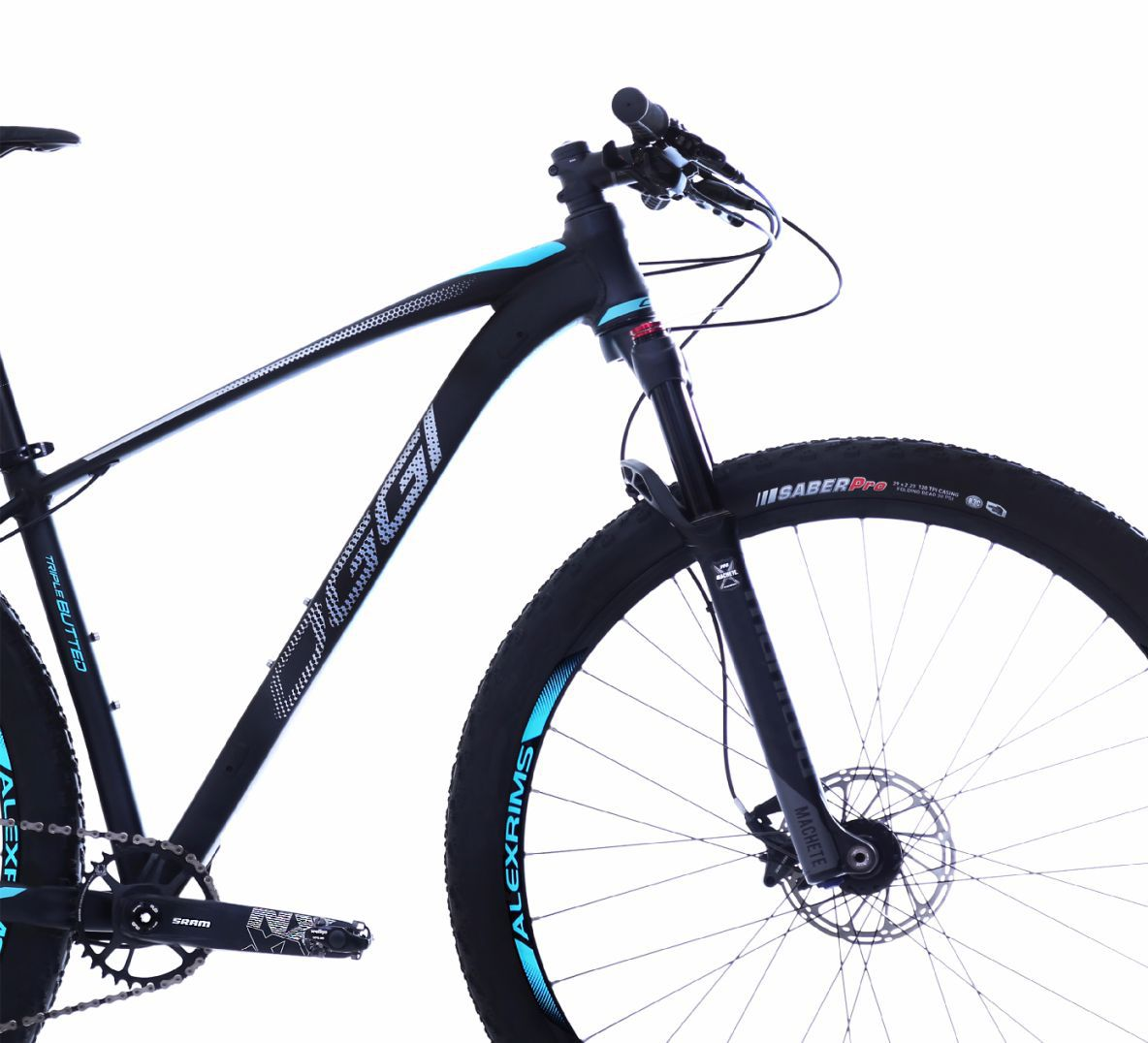 "Bicicleta 29"" Oggi 7.5 Big Wheel 12v  cor azul"