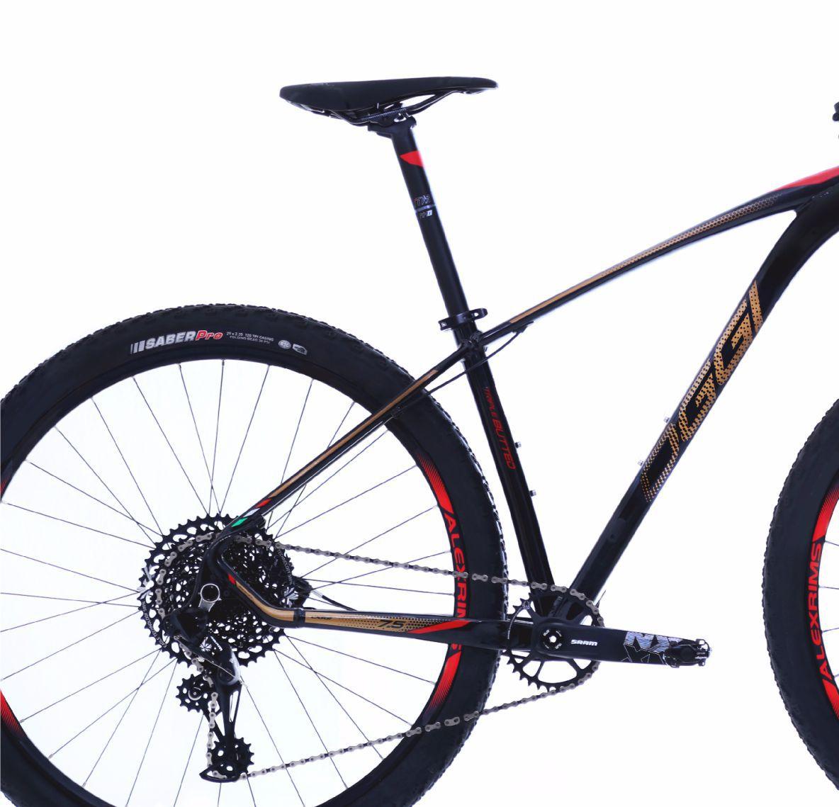 """Bicicleta 29"""" Oggi 7.5 Big Wheel 12v cor vermelha"""