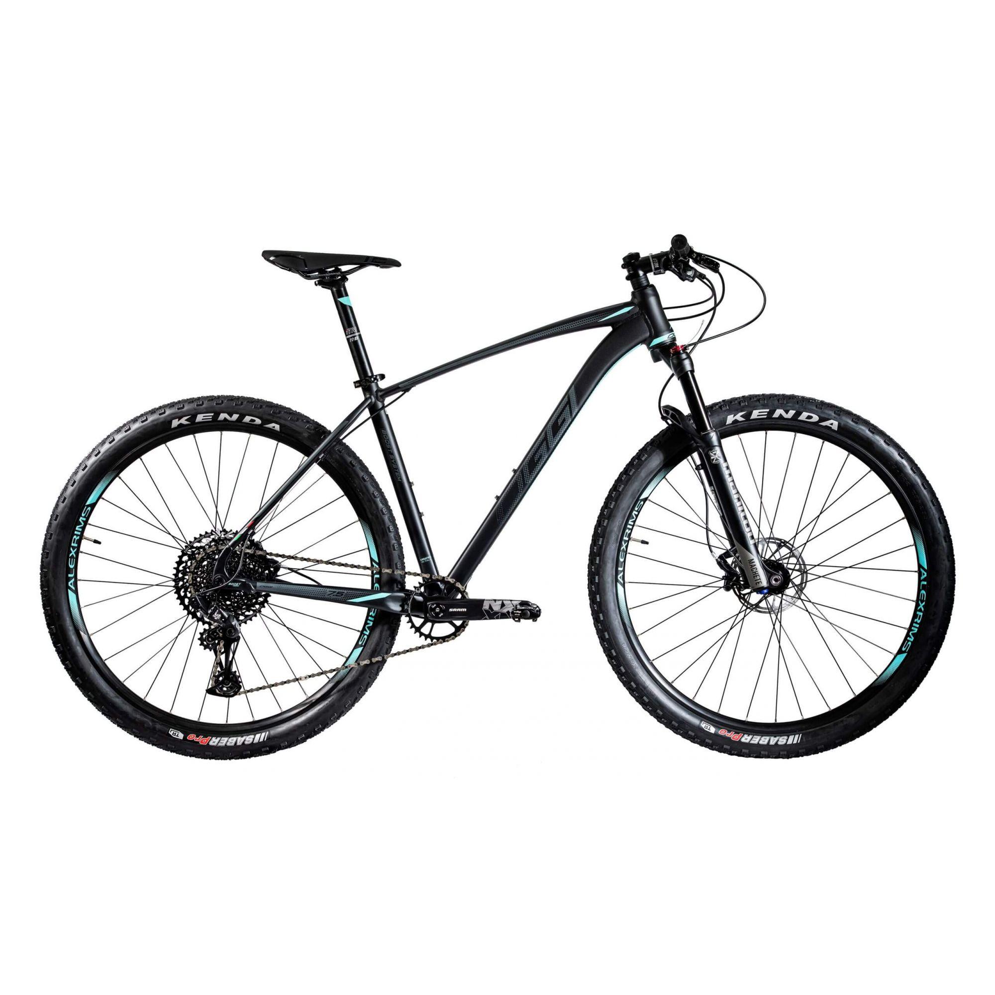 Bicicleta 29'' OGGI Big Wheel 7.5 2020 Preta/Azul