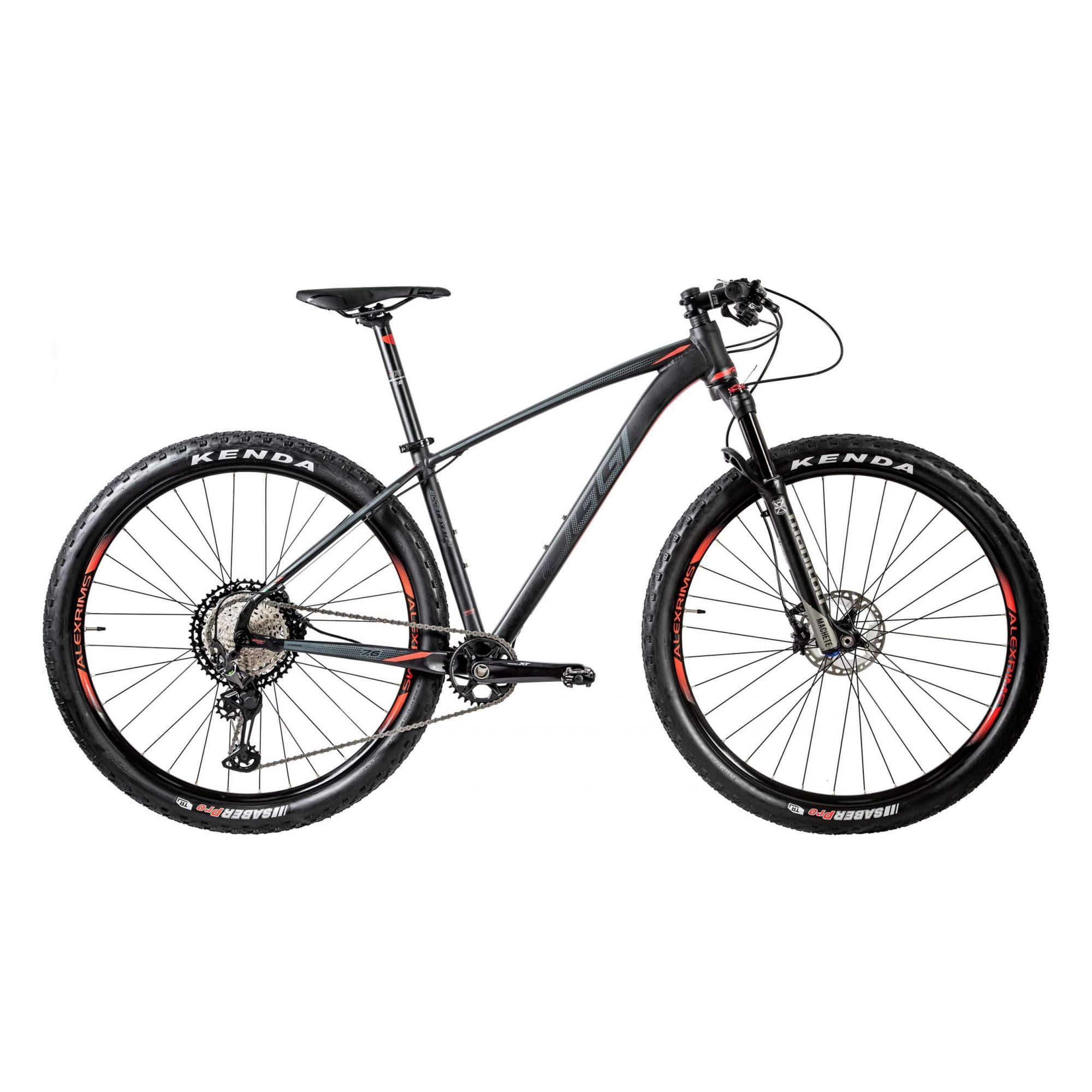 "Bicicleta 29"" OGGI Big Wheel 7.6 2020 preta/vermelha"