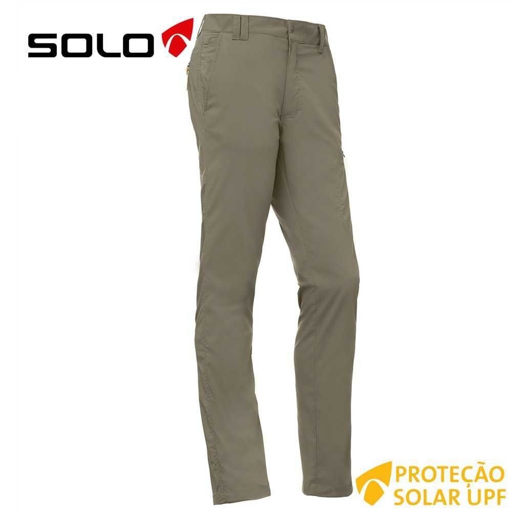 Calça masculina elastica Solo Authentic
